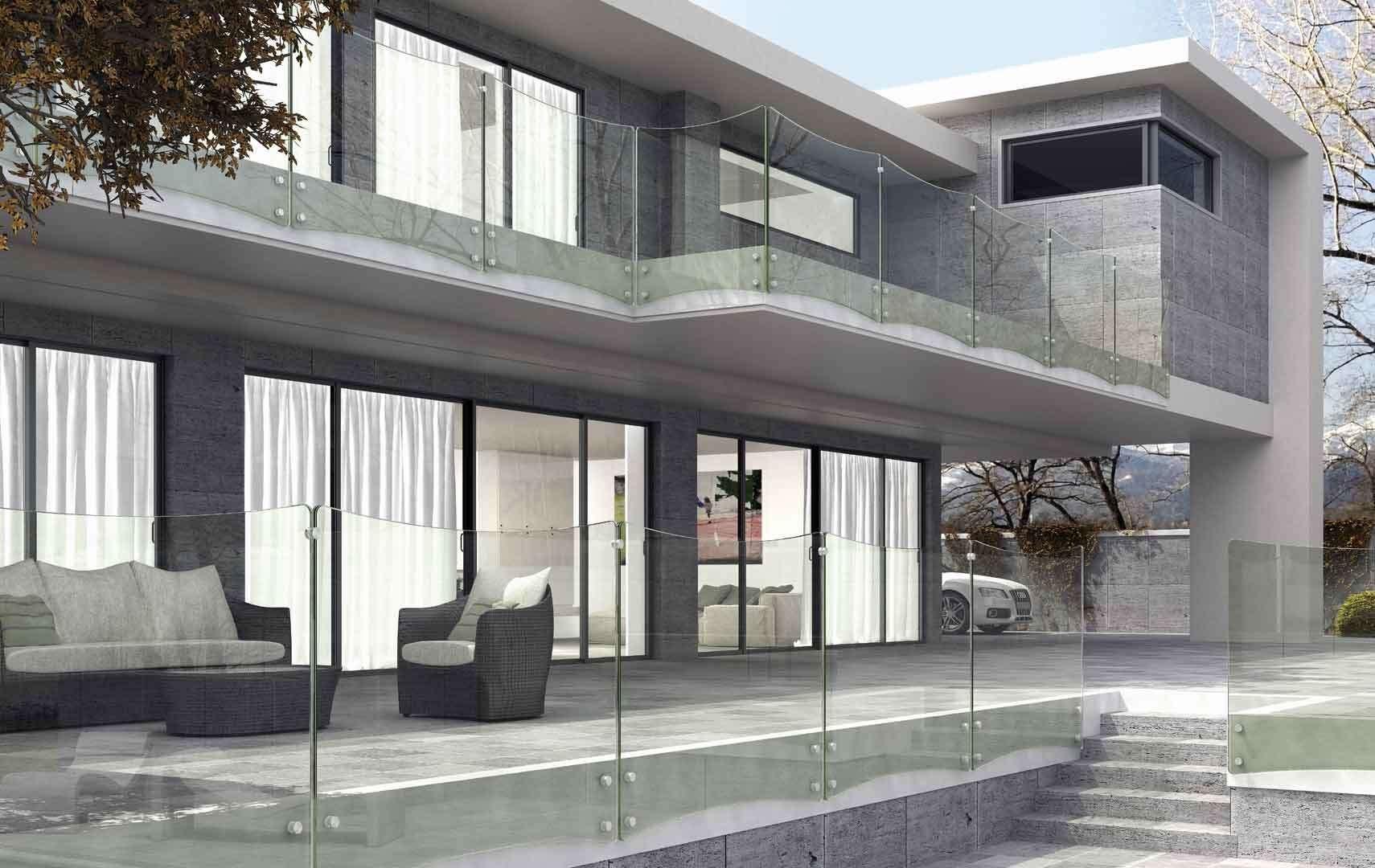 Conosciuto ᐅ Ringhiere per scale interne, le puoi trovare in legno e in vetro. UE77