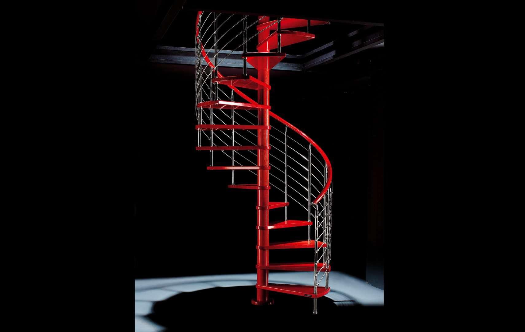 garde corps escalier hélicoïdal