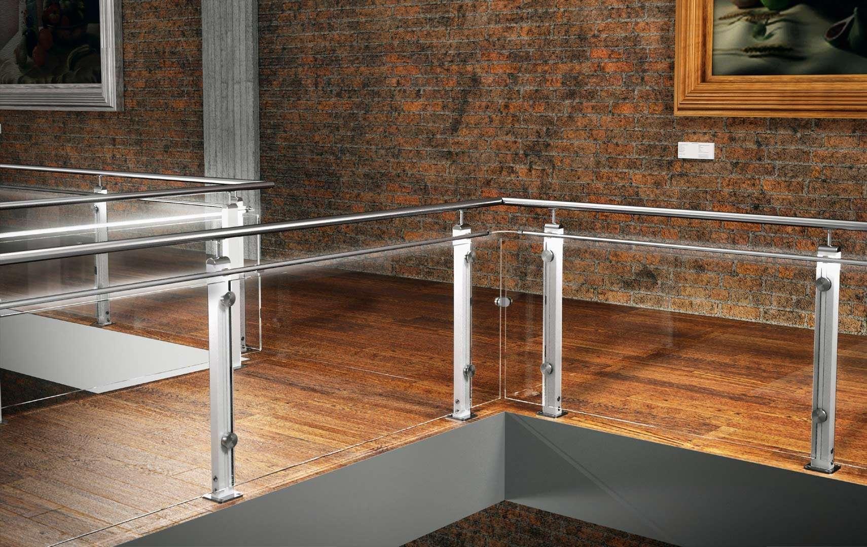 Mast ringhiere per scale interne le puoi trovare in legno e in vetro - Ringhiere in vetro per scale interne prezzi ...