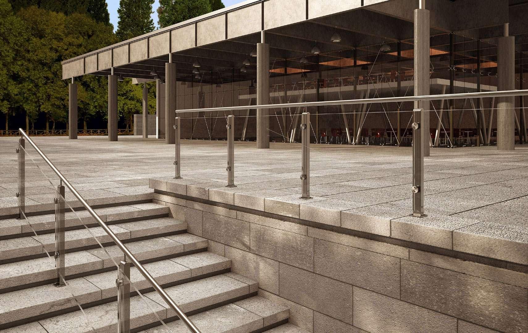 Mast ringhiere per scale interne le puoi trovare in - Ringhiere scale esterne ...