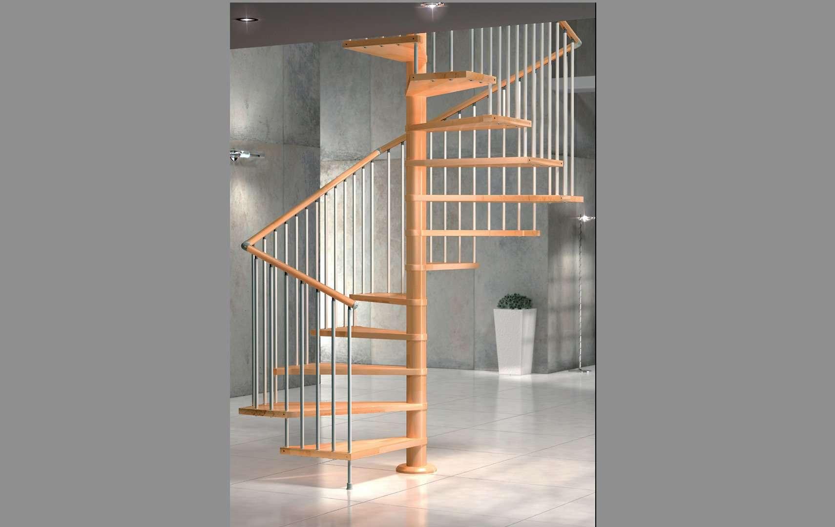 Vip ampia scelta di scale a chiocciola e scale elicoidali in legno per interni con - Scale a chiocciola bari ...