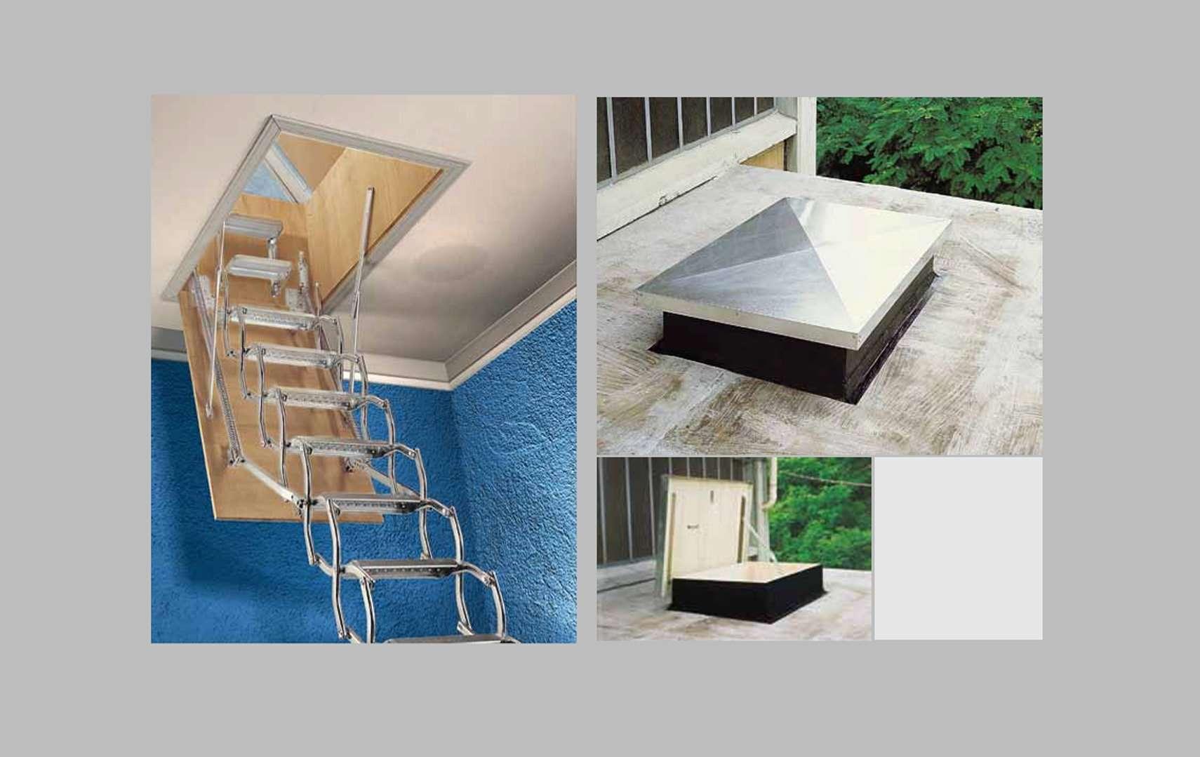 ᐅ ZX | Scala retrattile in legno e a scomparsa, su misura, ideali ...