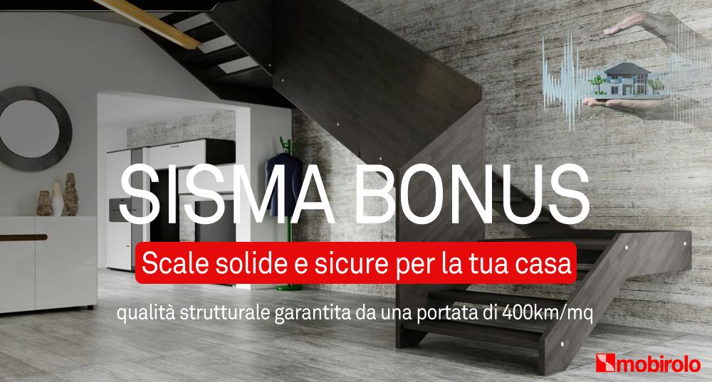 Sisma Bonus: scale comode e sicure per la tua casa