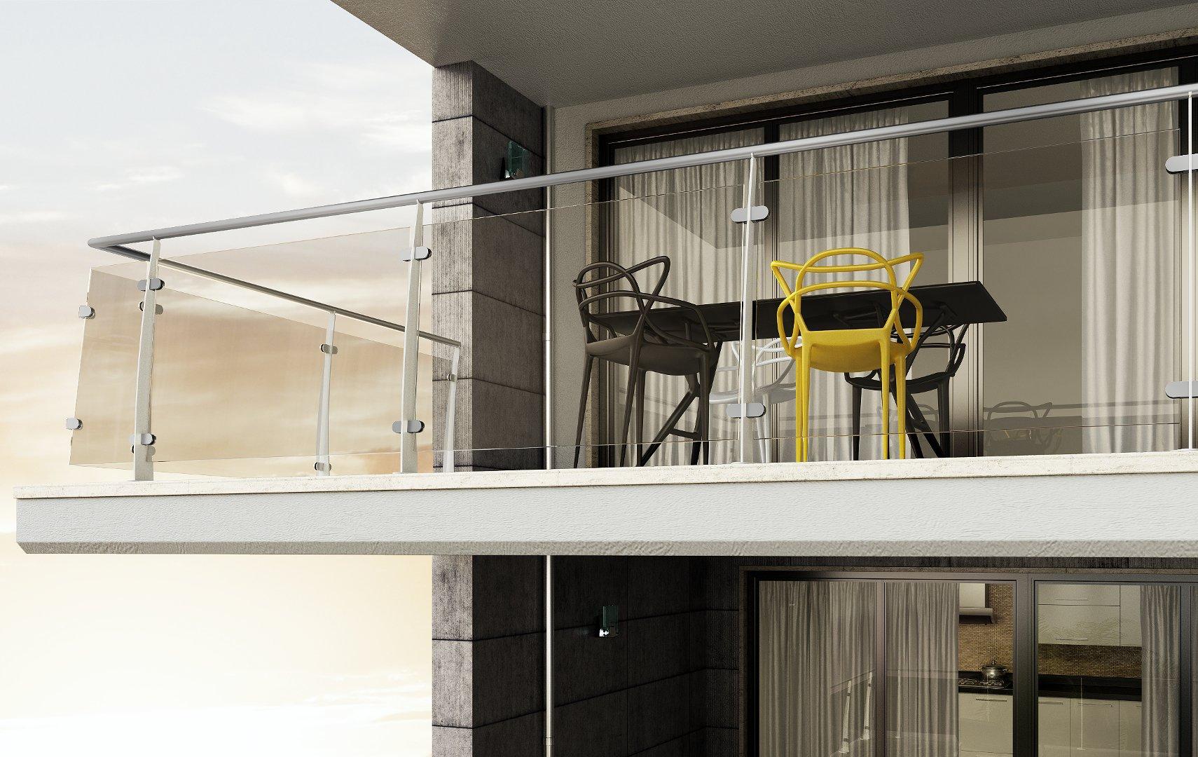 Rod200 rg ringhiere per scale interne le puoi trovare in legno e in vetro - Ringhiere in vetro per scale interne prezzi ...