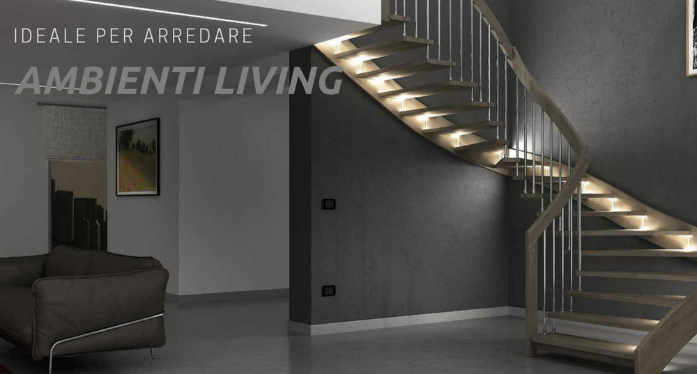 Vuoi arredare gli spazi living e soggiorno perch scegliere for Arredare scale interne
