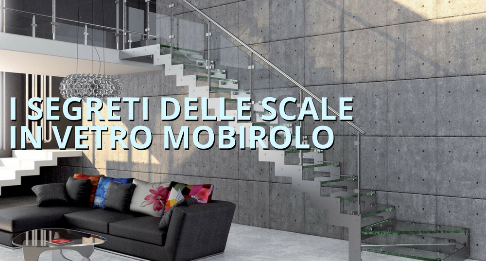 Transparenzia, elegancia y resistencia: todos los secretos de las escaleras de vidrio
