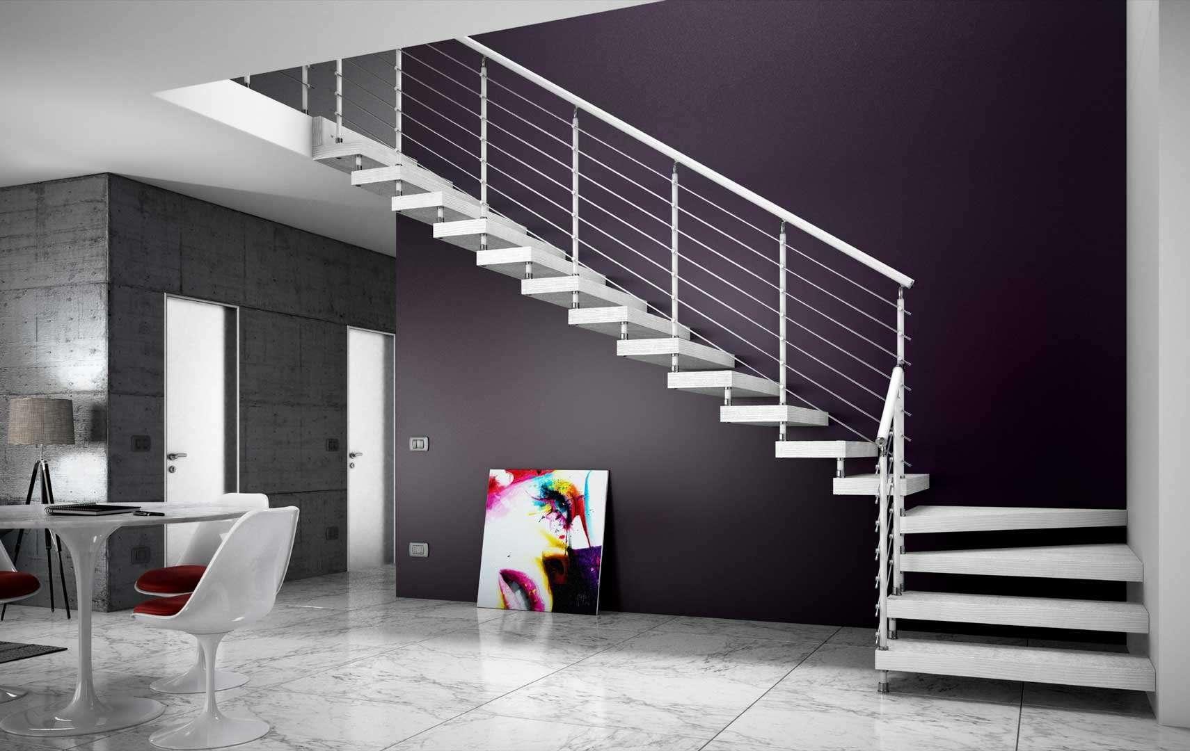 scegli tra i diversi modelli di scale interne in legno. le scale ... - Scale Per Interno