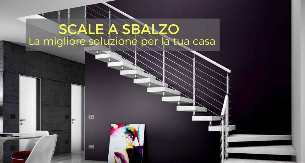 Cantilevered stairs. The best solution for your home