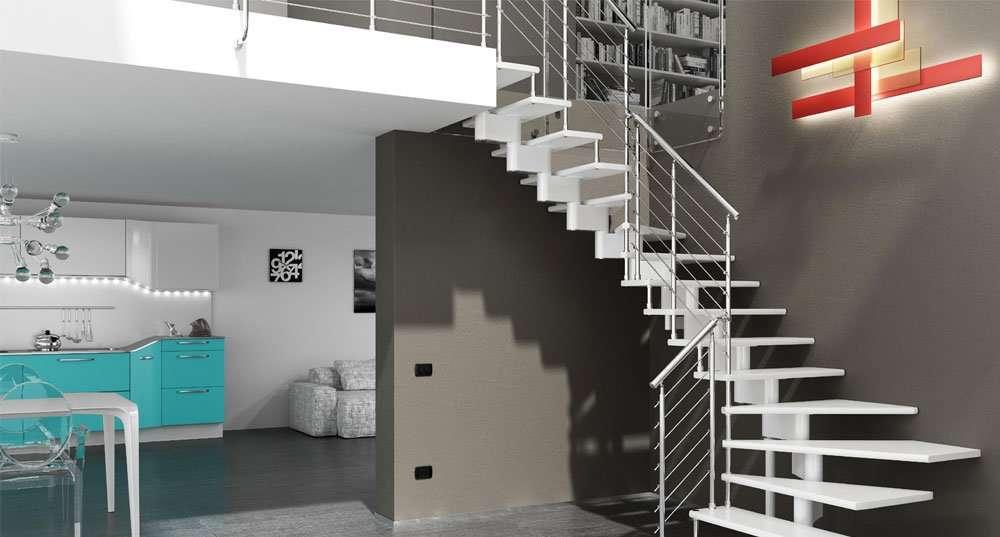 ᐅ scale per soppalco scegliere a seconda dello stile scale per