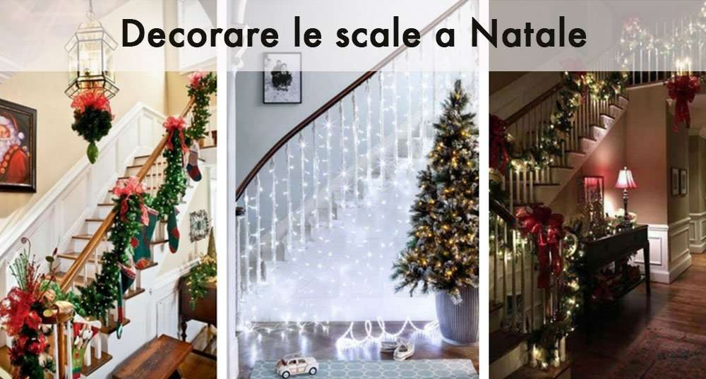 ᐅ decorate your staircase for christmas? heres some advice.