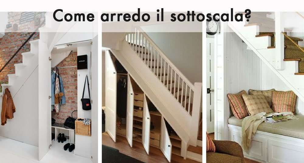 7 consigli utili per arredare lo spazio sotto la tua scala for Arredare pianerottolo scale