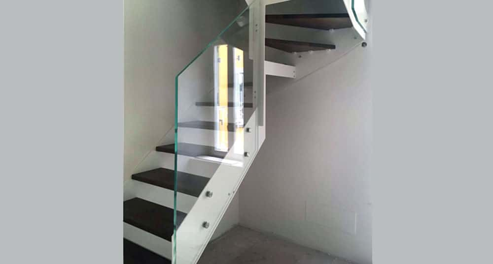 Rexal RX indoor staircase installation in Milan