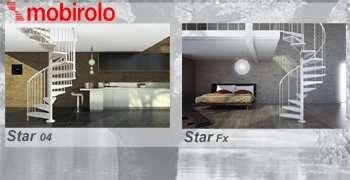 Scala chiocciola Star 04 restyling e Star Fx
