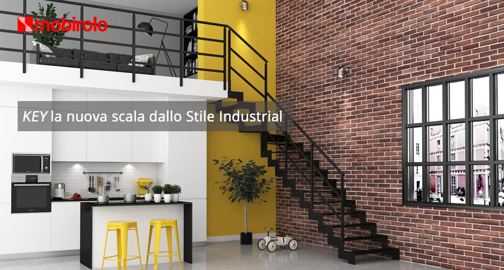 Key la nuova scala per interni dallo Stile Industrial