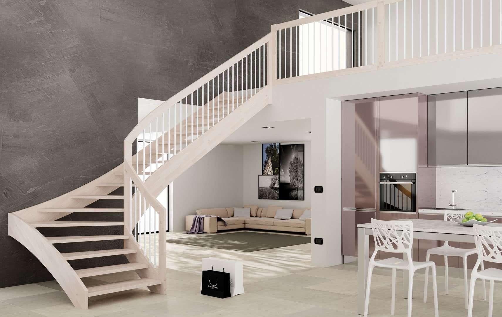Esperia scale interne moderne in legno scegli i modelli pi apprezzati dai nostri clienti - Scale interne classiche ...