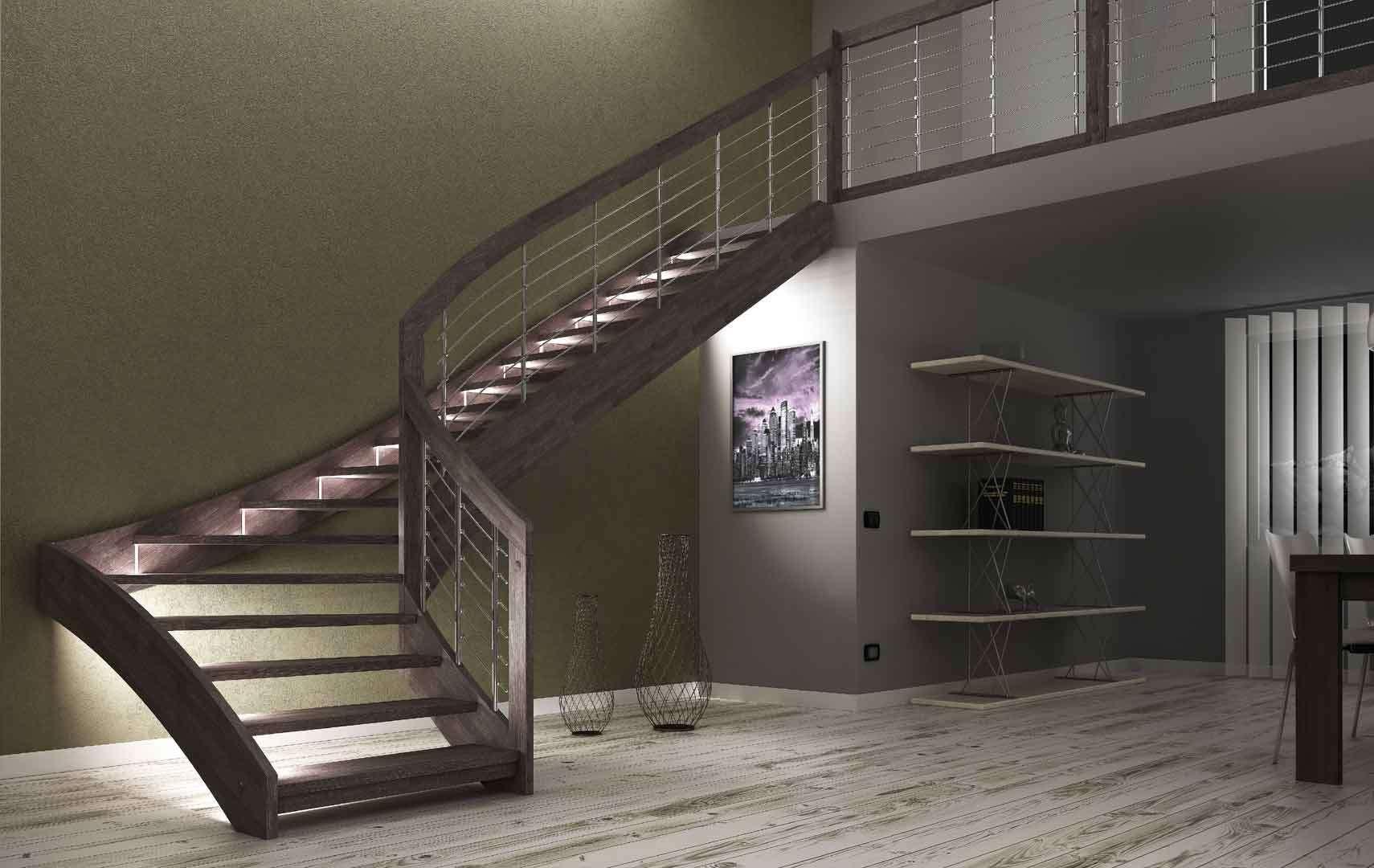 Esperia scale interne moderne in legno scegli i modelli pi apprezzati dai nostri clienti - Calcolo scale interne ...