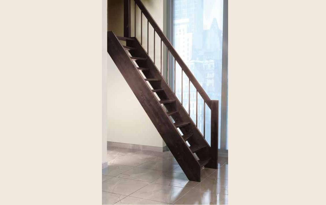Marinara scale per soppalchi in legno salvaspazio a - Scale interne piccoli spazi ...