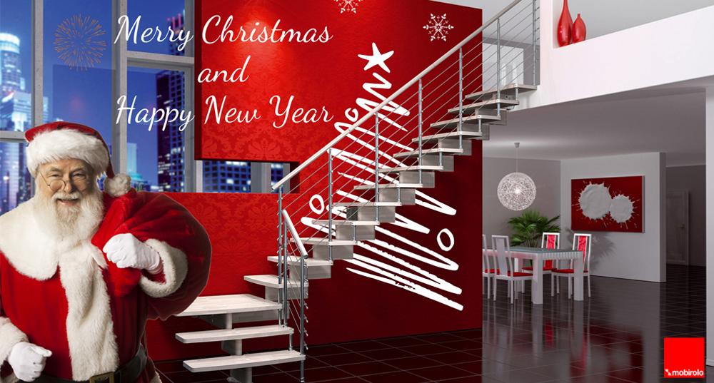 Auguri di Natale da Mobirolo scale per interni