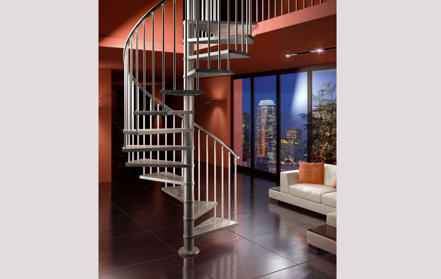 small spiral staircase