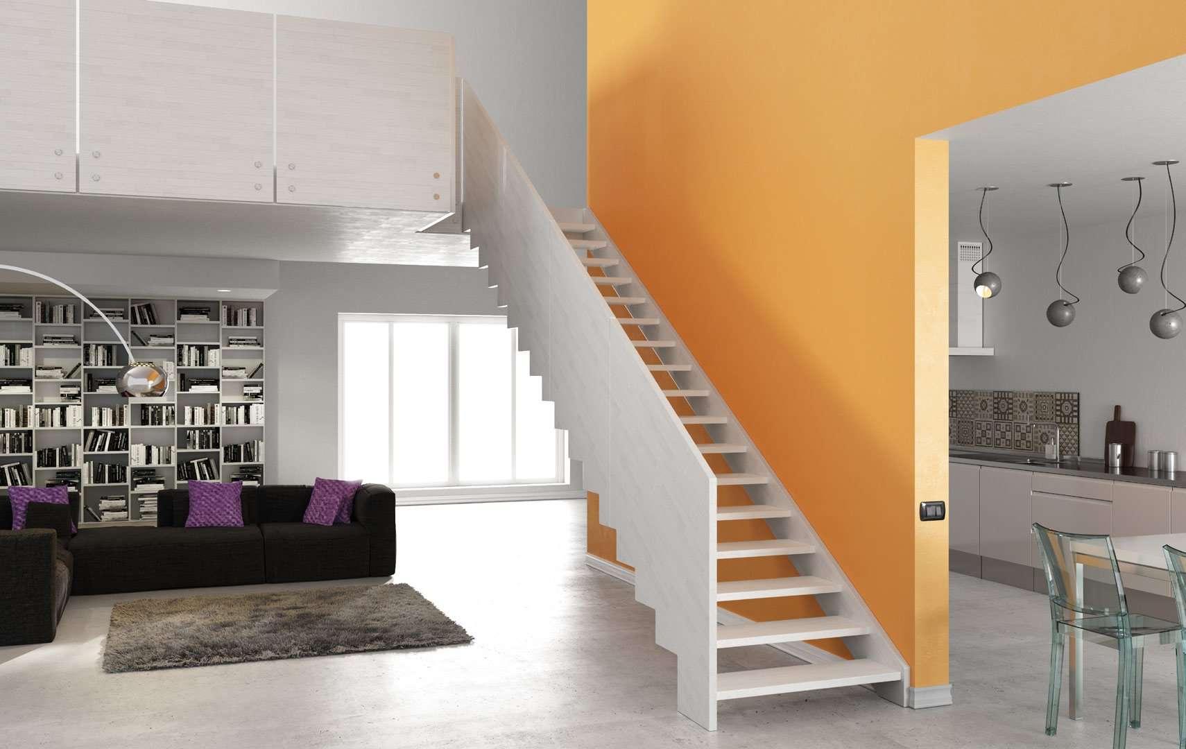 Castle s scale interne moderne in legno scegli i - Scale per interni catania ...