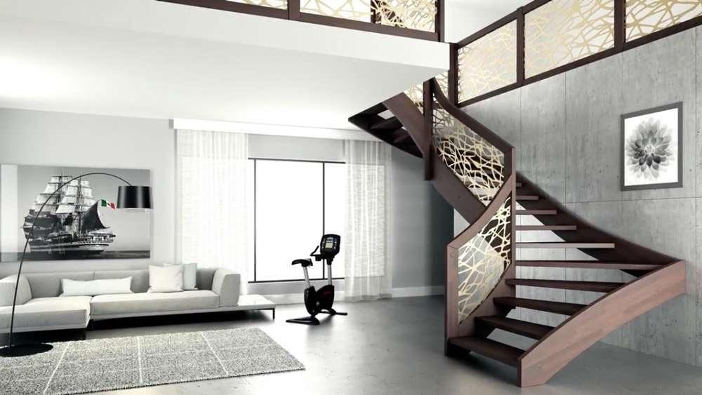 Scale a chiocciola scale interne scale per interni - Scale di design ...