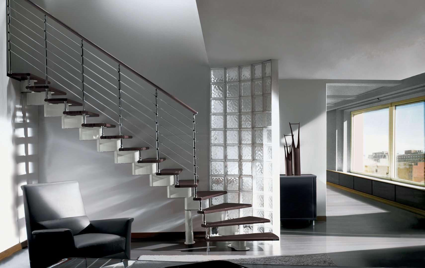 Nika scale per interni scale in legno per gli interni - Scale interni design ...