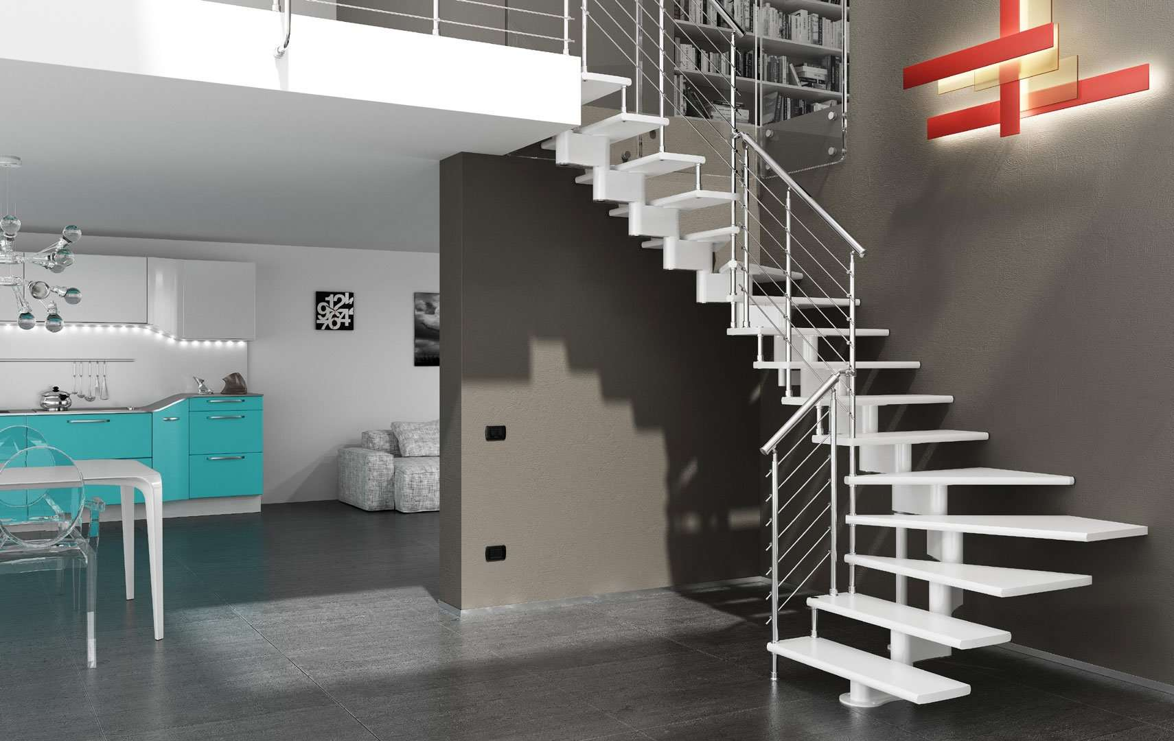 ᐅ Open Staircase Design Staircase Design Open Staircase Design