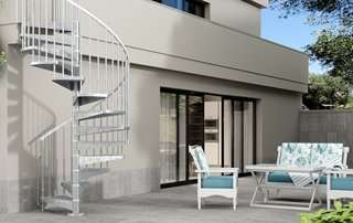 ᐅ Scale esterne e ringhiere moderne e in legno, ideali per terrazze ...