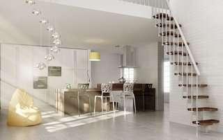 Dixi scale per soppalchi in legno salvaspazio a - Scale interne piccoli spazi ...