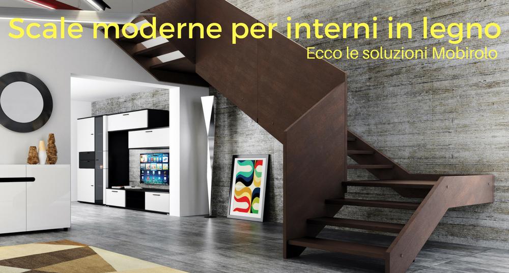 Escaliers Modernes Pour Les Intrieurs En Bois Voici Les Solutions Mobirolo