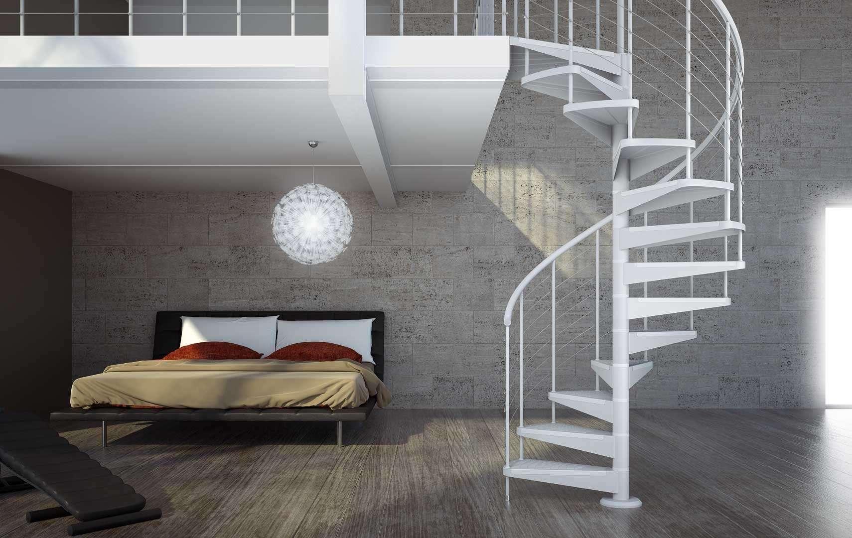 Star ampia scelta di scale a chiocciola e scale elicoidali in legno per interni con - Scale a chiocciola bari ...