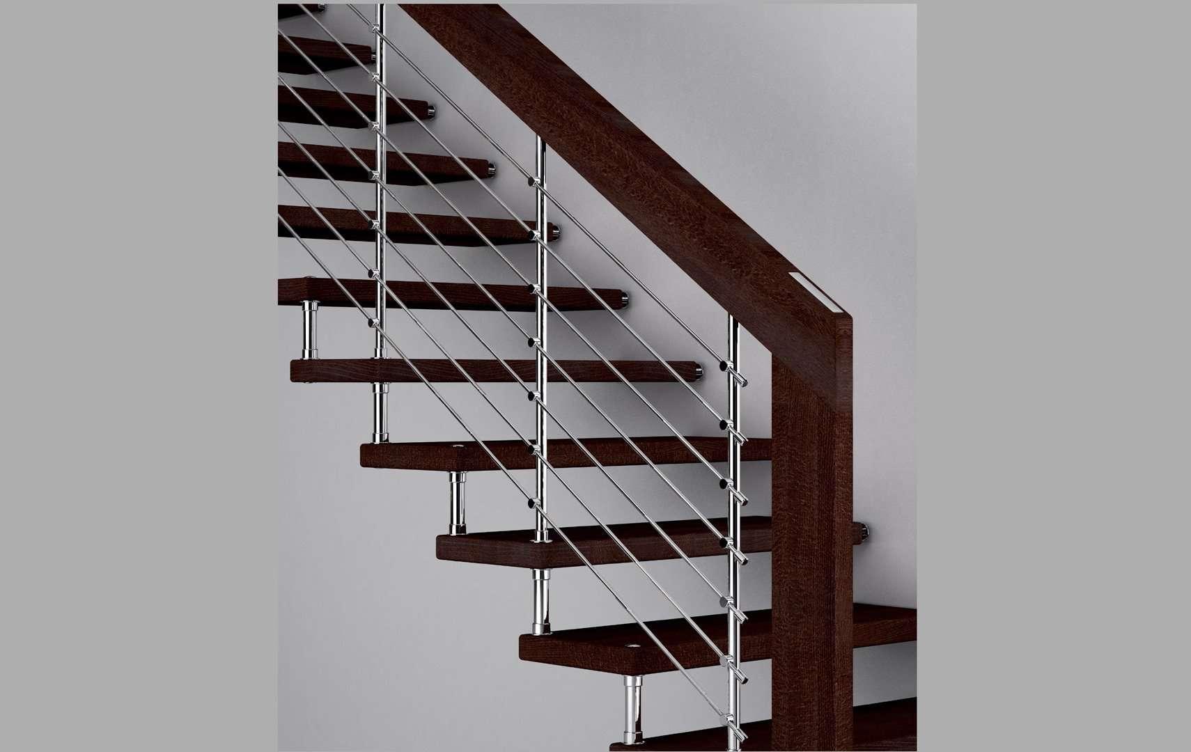 Akura escaleras italianas escaleras de madera maciza for Pasamanos para escaleras interiores