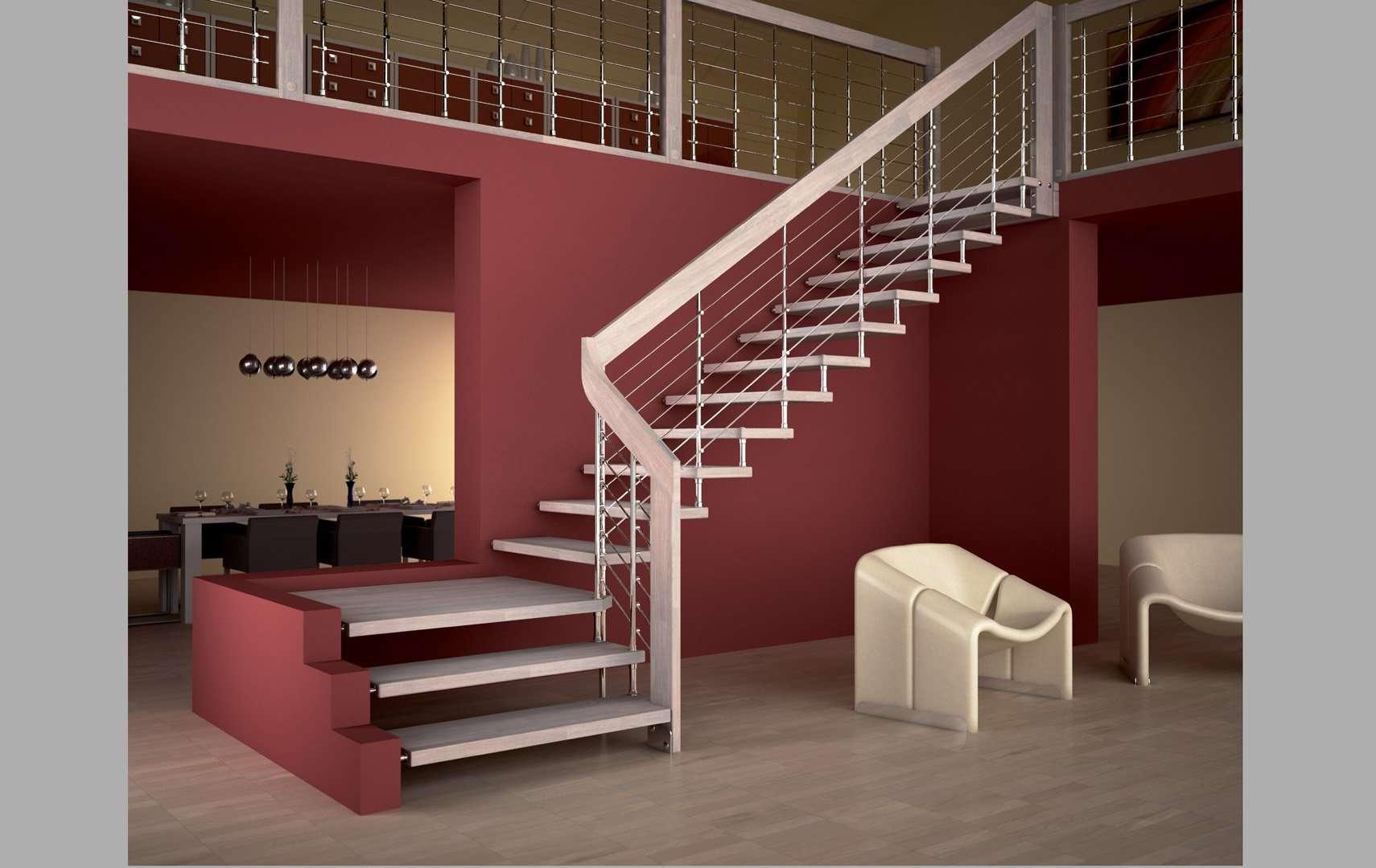 akura scale interne moderne in legno scegli i modelli pi apprezzati dai nostri clienti. Black Bedroom Furniture Sets. Home Design Ideas