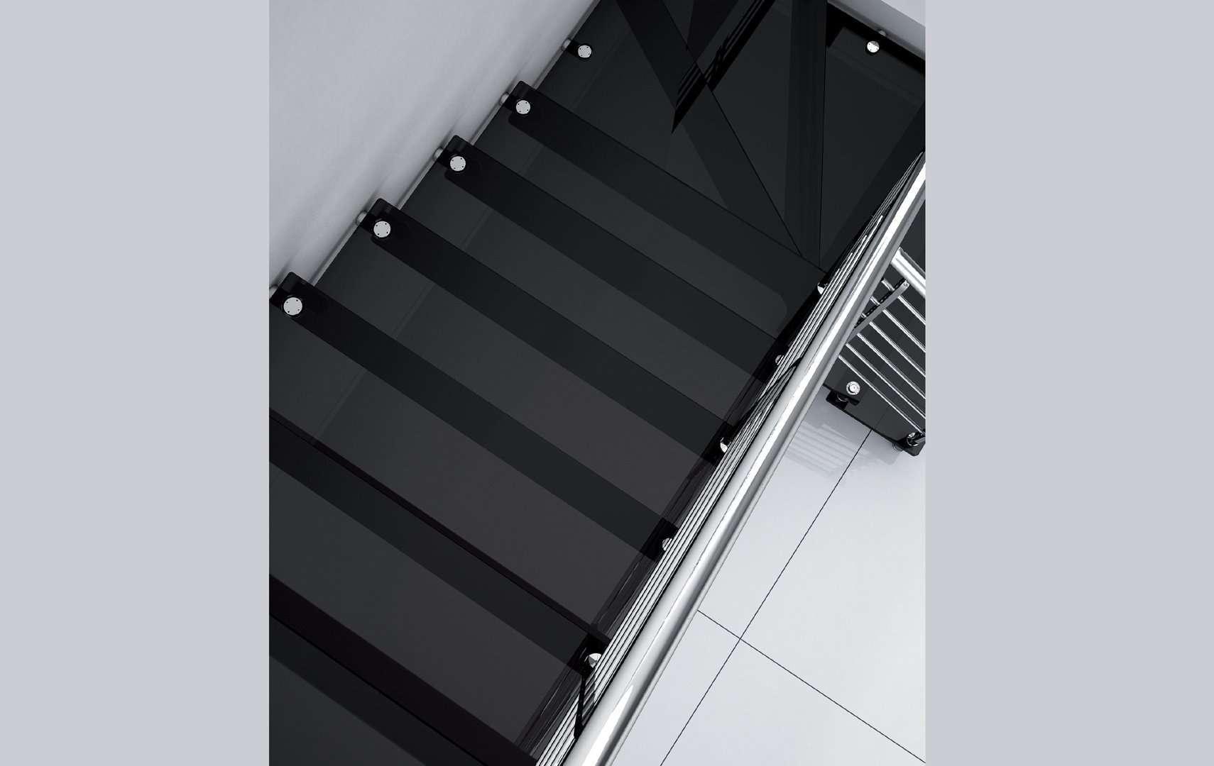 Akura Glass, Scale interne
