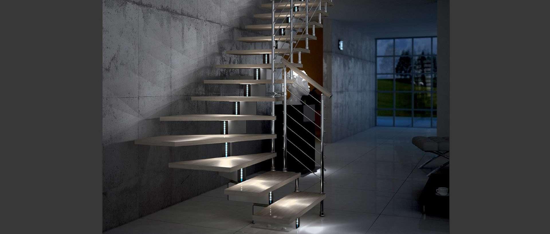 Escalier Modulaire Pas Cher ᐅ mobirolo - escaliers pour intérieur, escaliers design
