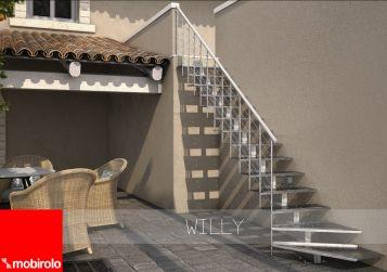 Scale per esterni: nuova Willy di Mobirolo