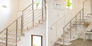 Great Mobirolo Installations: Akura interior staircase