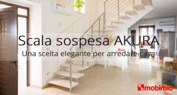 Scala sospesa Akura, una scelta elegante per arredare casa