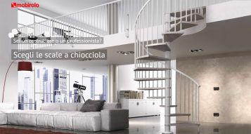 Scale a chiocciola ed elicoidali: una soluzione pratica ed elegante per la propria casa