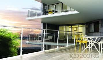 ROD 200 RG | The banister that combines elegance to security