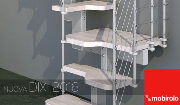 DIXI 2016 | Modern staircases for small spaces