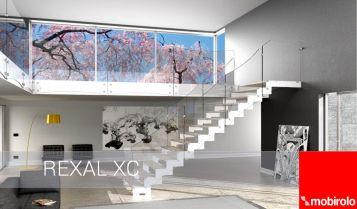 Novita': scale interne in vetro - la nuova Rexal XC