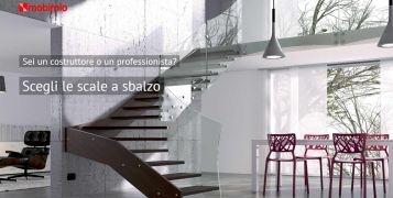 Scale per interni Mobirolo: le soluzioni dedicate ai professionisti.