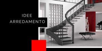 Idee arredamento: scale Mobirolo per spazi ridotti
