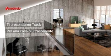 Track � la balaustra essenziale per ogni tipo d'ambiente