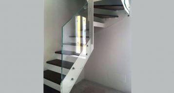 Installazione scala per interni Rexal RX a Milano