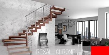 Rexal Chrome: i vantaggi delle scale di design Mobirolo