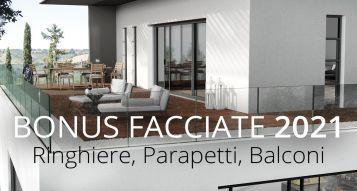 Bonus Facades 2021: balconies, railings, parapets