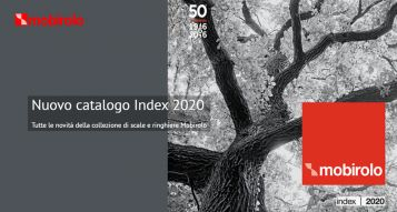 Nuovo catalogo Index 2020