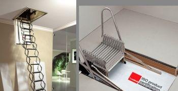 Aislamiento t�rmico y ahorro energ�tico gracias a la escalera retr�ctil ZX ISO MOBIROLO